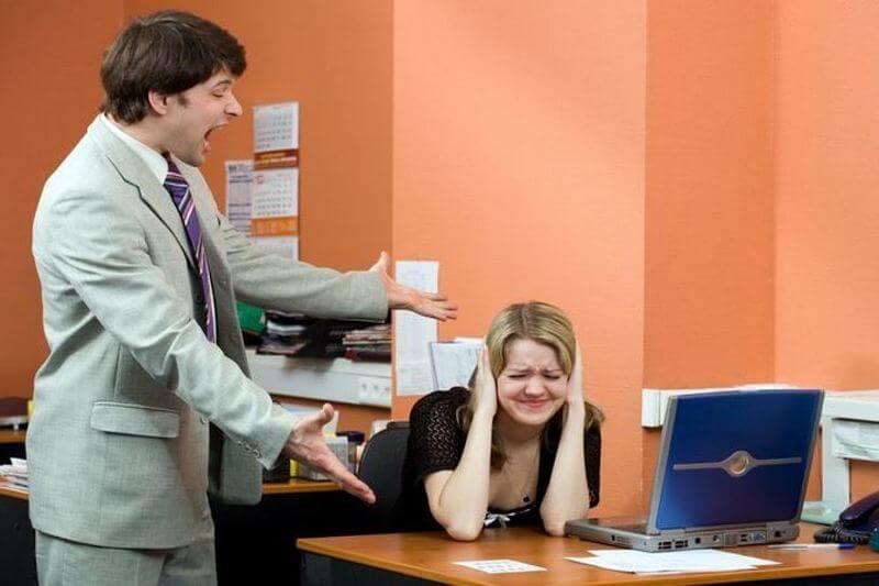 Оскорбление личности на рабочем месте