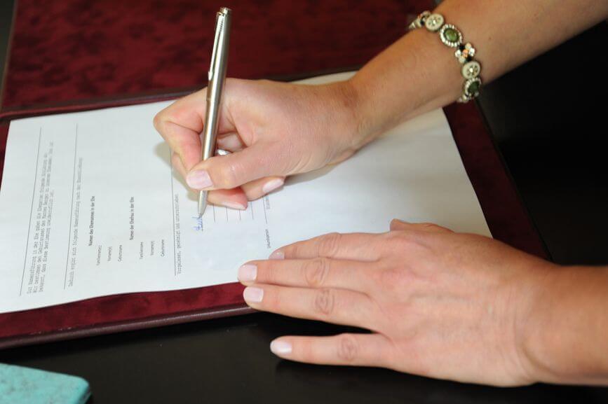 Внесение изменений в брачный договор